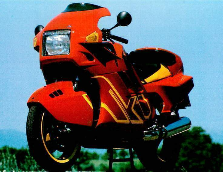 BMW K1 technical specifications